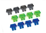 Traxxas Battery Charge Indicators Green (4) Blue (4) Grey (4)