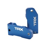Traxxas 30 Deg Caster Blocks Blue Slash Rustler Stampede
