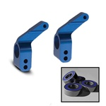 Traxxas Aluminum Rear Stub Axle Housing Blue Slash Rustler Stampede