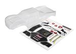 Traxxas Bigfoot Officially Licensed Replica Body (clear requires painting) Window Masks / Decal Sheet