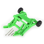 Traxxas Wheelie Bar Mount Assembled Green Monster Jam