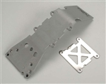 Traxxas Skid Plate Front Plastic Gray T-Maxx