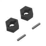 Traxxas Hex Wheel Hubs Tall Offset 14x7.5mm (2)