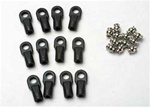 Traxxas Rod Ends Revo Large w/ Hollow Balls (12)