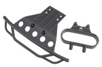 Traxxas Front Bumper/Bumper Mount Black Slash