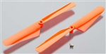 Traxxas LaTrax Rotor Blade Set Orange Alias (2)
