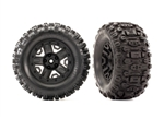 "Traxxas 2.8"" Sledgehammer Tires & Wheels, assembled, glued (2)"
