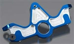 Traxxas Aluminum Motor Mount Blue Slash 4x4