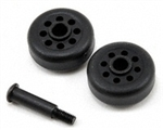 Traxxas Wheelie Bar Wheel & Axle Set