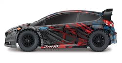 Traxxas 1/10 Scale Ford Fiesta ST Rally RTR