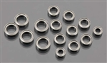 Traxxas Bearings 4x8mm (2)/6x10mm (8)/8x12mm (5)