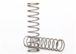 Traxxas Springs, shock (GTS) (0.22 rate yellow) (2) TRX-4