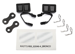 Traxxas Mirrors Side Black (left & right)