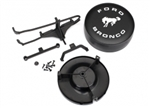 Traxxas Bronco Spare Tire Mount and Cover TRX-4