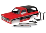 Traxxas TRX-4 Complete 1979 Chevrolet Blazer Body (Red)