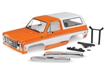 Traxxas TRX-4 Complete 1979 Chevrolet Blazer Body (Orange)