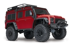 Traxxas TRX-4 Scale & Trail Defender Crawler RTR 1/10 (Red)