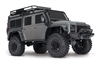 Traxxas TRX-4 RTR with Land Rover Defender Body (Silver)