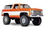 Traxxas TRX-4 RTR with Chevy K5 Blazer Body (Orange)