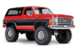 Traxxas TRX-4 RTR with Chevy K5 Blazer Body (Red)