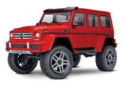Traxxas TRX-4 RTR with Mercedes-Benz G 500 Body (Red)