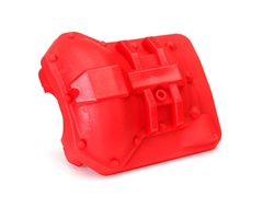 Traxxas Differential cover, front or rear (red) TRX-4