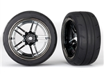 "Traxxas 4-Tec 2.0 1.9"" Response Rear Pre-Mounted Tires (2)"