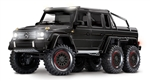 Traxxas TRX-6 RTR with Mercedes-Benz G 63 AMG 6x6 Body (Black)