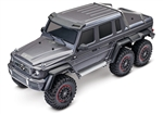 Traxxas TRX-6 RTR with Mercedes-Benz G 63 AMG 6x6 Body (Matte Graphite Edition)