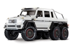 Traxxas TRX-6 RTR with Mercedes-Benz G 63 AMG 6x6 Body (Metallic White Edition)