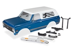 Traxxas Complete Body Set, 1972 Chevrolet Blazer - Blue and White