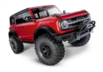 Traxxas TRX-4 RTR with 2021 Ford Bronco Body - Red