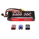 Venom Racing 5400mAh 3S 11.1V 20C LiPo Battery - UNI 2.0