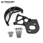 Vanquish Products VS4-10 Motor Mount / Gear Guard Black Anodized