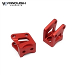 Vanquish Products Axial AR60 Axle Shock Link Mounts Red Anodized
