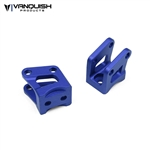Vanquish Products Axial AR60 Axle Shock Link Mounts Blue Anodized