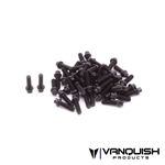 Vanquish Products Hex Scale Black Wheel Screw Kit