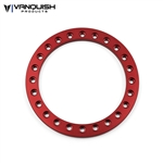 "Vanquish Products 1.9"" Original Beadlock Ring Red Anodized (1)"