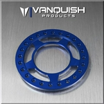 "Vanquish Products 1.9"" Spyder Beadlock Ring Blue Anodized (1)"