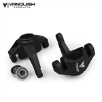 Vanquish Products Axial Yeti / EXO Steering Knuckles Black Anodized