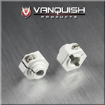 Vanquish Products 12mm Clamping Hex Hub Clear Anodized (2)