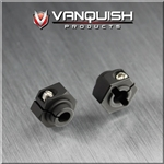 Vanquish Products 12mm Clamping Hex Hub Black (2)