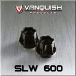 Vanquish Products SLW .600 Wheel Hub Black (2)