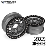 Vanquish Products KMC 1.9 XD127 Bully Grey Anodized