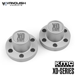 Vanquish Products Center Hubs XD Series Clear Anodized