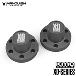 Vanquish Products Center Hubs XD Series Grey Anodized