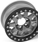 Vanquish Products Single Method 1.9 Race Wheel 101 Grey Anodized V2 (1)
