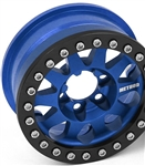 Vanquish Products Single Method 1.9 Race Wheel 101 Blue Anodized V2 (1)