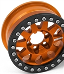 Vanquish Products Single Method 1.9 Race Wheel 101 Orange Anodized V2 (1)