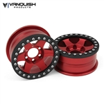 "Vanquish Products Method 1.9"" Race Wheel 310 Red Anodized (2)"